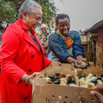 First Lady launches an empowerment poultry program in Taita Taveta
