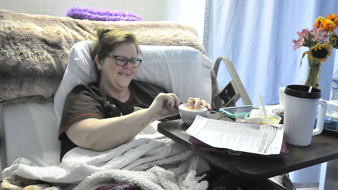 Burley woman struggles to reclaim life after being hit by car on stormy night