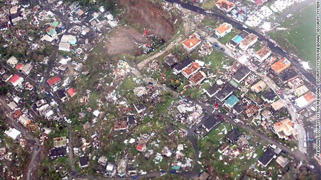These aerial images show the devastation caused by Hurricane Maria in Dominica https://t.co/Kpx0lMhaoZ https://t.co/YXHH49fRfx