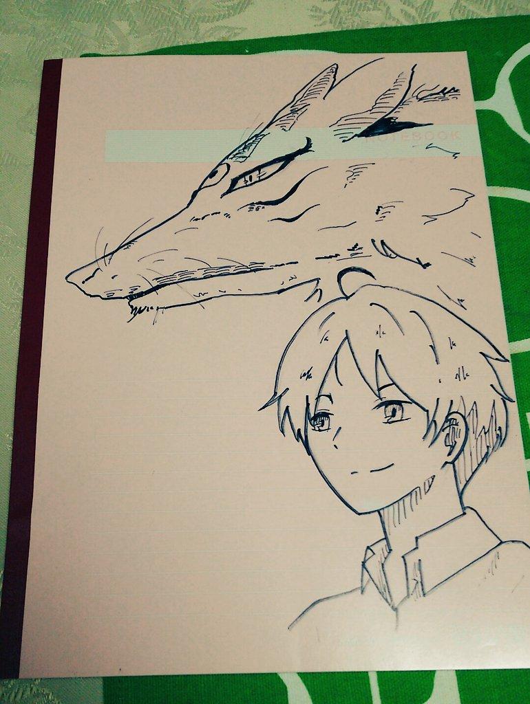 あるぱかさんからイラスト付きノートが届いたよヽ(*´▽)ノ♪夏目友人帳のキャラクターが勢揃い!めっちゃ嬉しい!!!!ヘ(