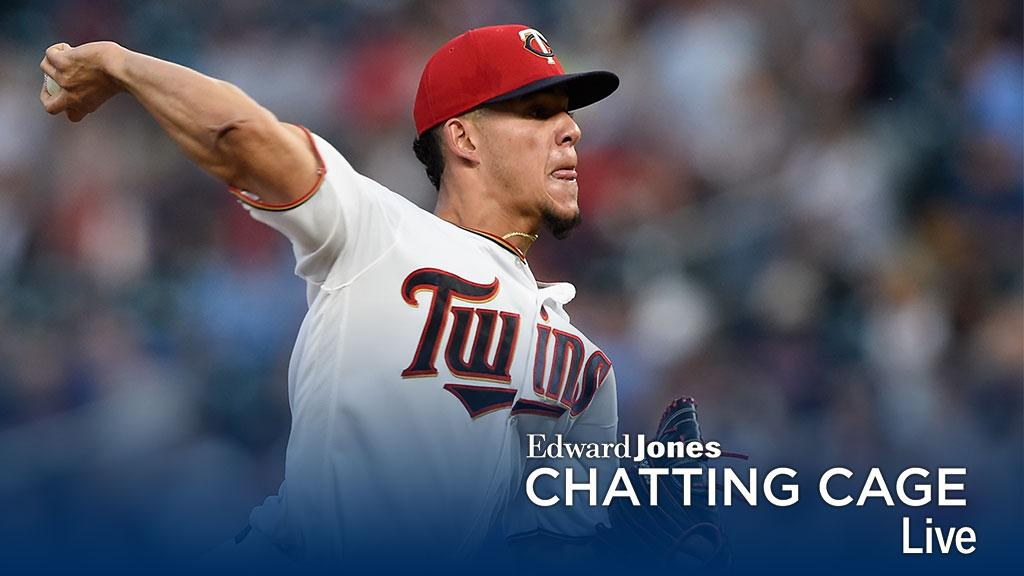 Got a question for @Twins hurler @JOLaMaKina? Ask away in the @EdwardJones #ChattingCage: https://t.co/XFywsA2p3Z https://t.co/16N5NrGVdX