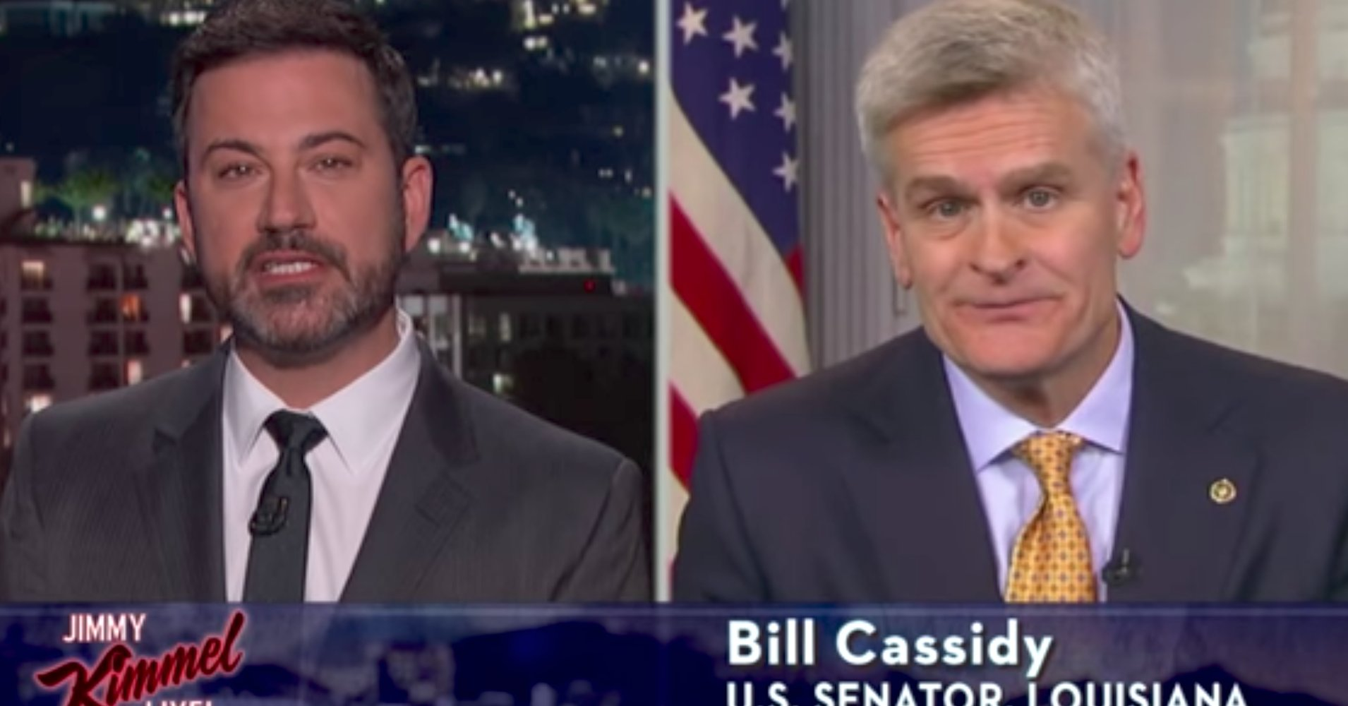 Jimmy Kimmel says Sen. Bill Cassidy lied to his face over Obamacare repeal https://t.co/syQV2dW8NT https://t.co/vTt1URMRR8