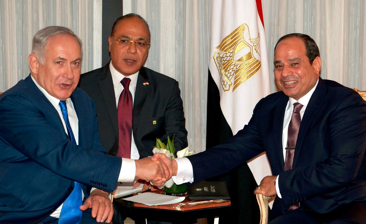 Netanyahu aide hails PM's first public meet with Egypt's Sissi as diplomatic win