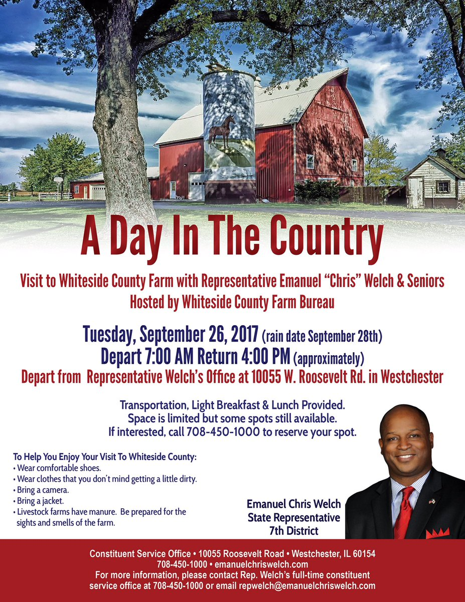 test Twitter Media - Know a Senior who would like to visit the country with me?  Have them call my office asap.  Our bus to Whiteside County leaves Tuesday! https://t.co/OvesXgWLzc
