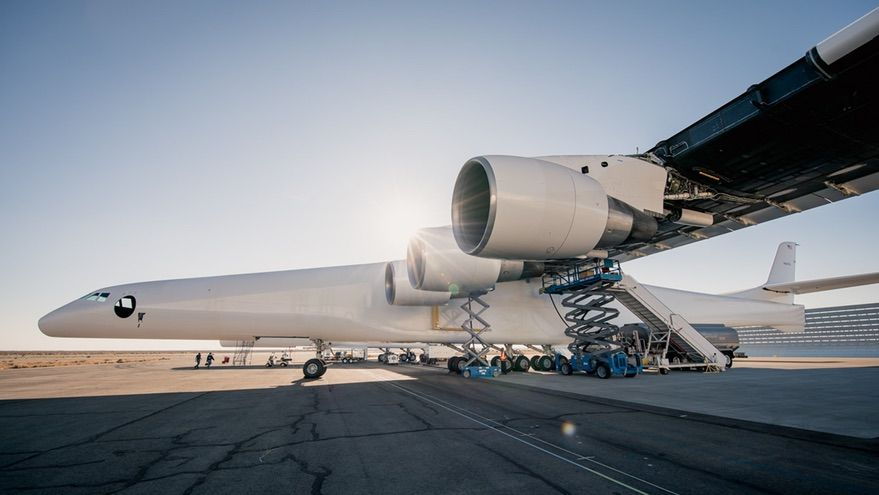 RT @SpaceNews_Inc: Engine test latest step for Stratolaunch's giant aircraft https://t.co/Vhu8Iz8zLW https://t.co/wKGG6T1WrY