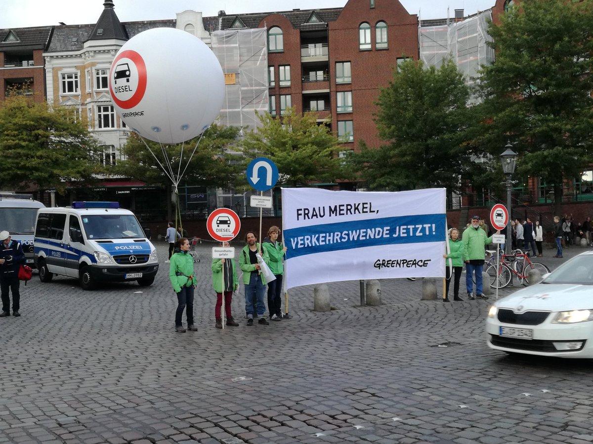 test Twitter Media - Heute spricht Frau Merkel in der Fischauktionshalle. Wir sagen: Frau Merkel, #Verkehrswende jetzt! #BTW17 https://t.co/OKSuTF3vNQ
