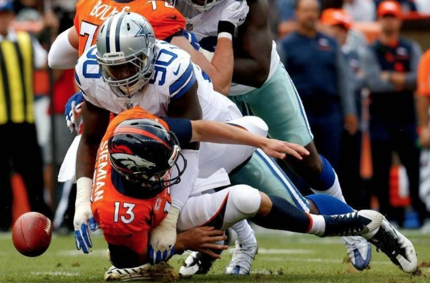 Former Boise State pass rusher had one sack last season. Now, he leads the NFL