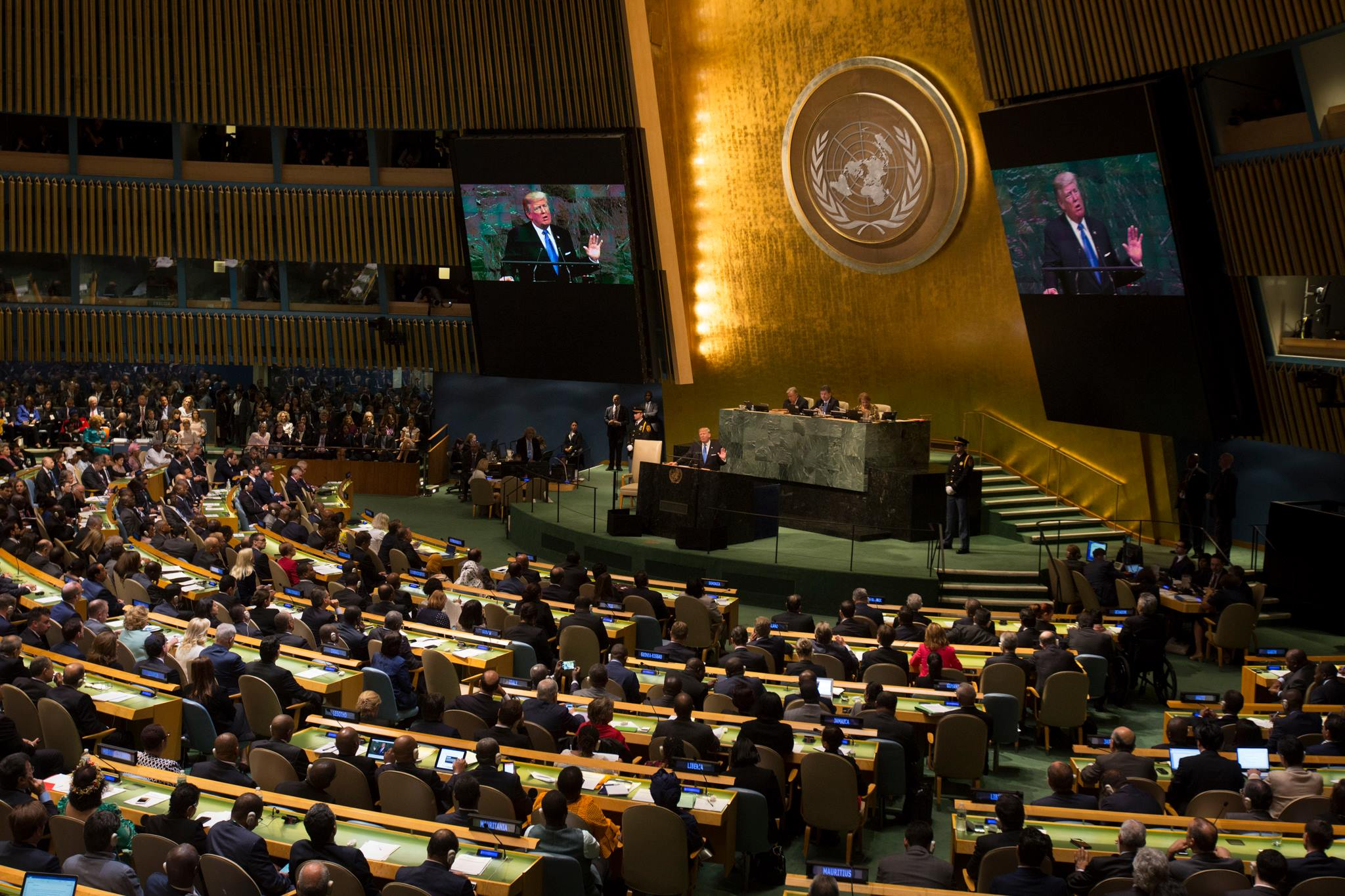 What They are Saying: Praise for President Trump's Address to the UN General Assembly: https://t.co/fVqYeTVaPM #UNGA https://t.co/A12GGLDsCI