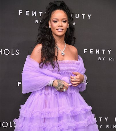 Rihanna does purple tulle the #FentyBeauty launch: https://t.co/1LSFxznxKS https://t.co/SPJbabYaio
