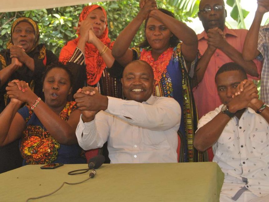 Ignore political brokers and involve us directly, Kilifi JP campaigners tell UhuRuto