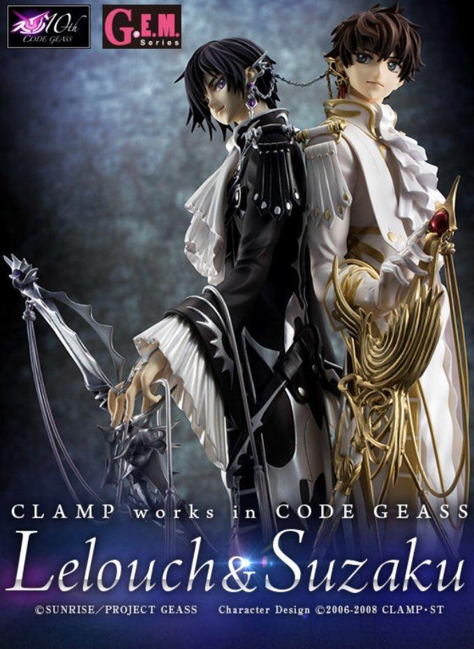 【#コードギアス】9月22日13時限定受注開始!G.E.M.「CLAMP works in ルルーシュ&スザク」
