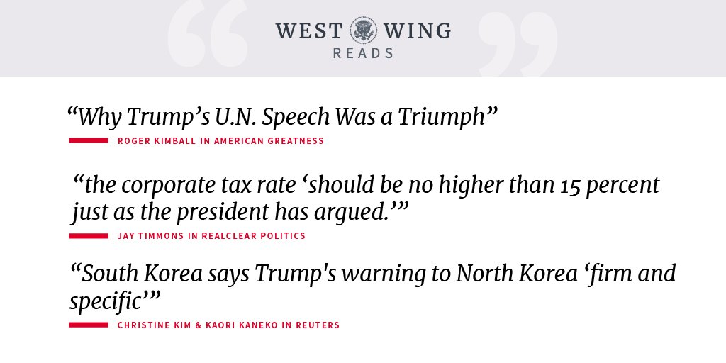 Read what the West Wing reads: https://t.co/3E7lB1aBlE https://t.co/V6WXWhlSB2