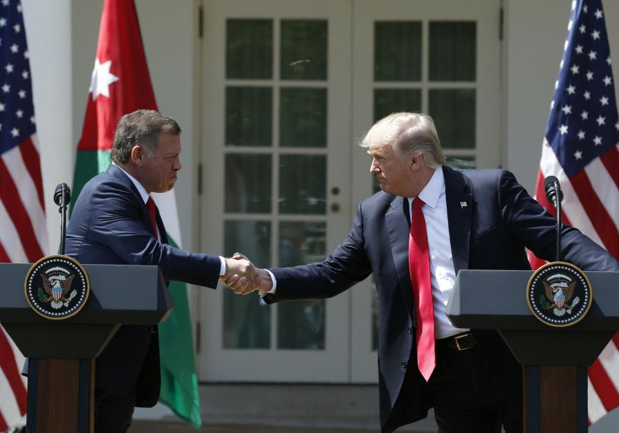 President Trump meets with the King of Jordan to discuss Syria