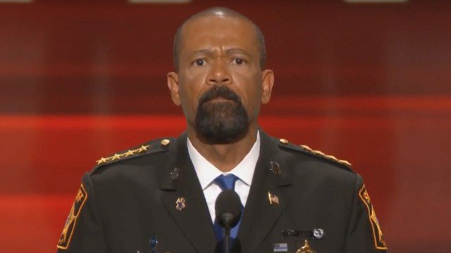 Ex-sheriff David Clarke to reporter: 'F-ck you and the horse you rode in on' https://t.co/Emel6th8gW https://t.co/XBi5zNc1CJ
