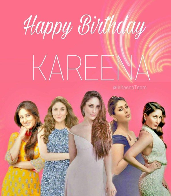 HAPPY BIRTHDAY to the GORGEOUS KAREENA KAPOOR aka BEBO , keep smiling & may u have a best year ahead