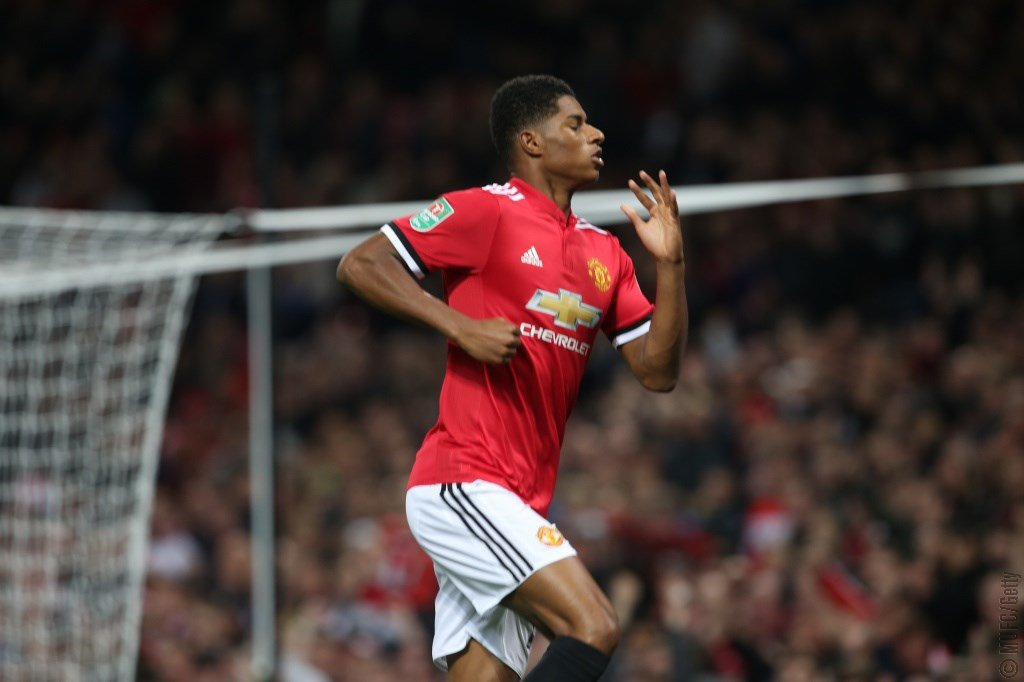 Like Manchester, Rashford is red! #MUFC https://t.co/vz55cR1j25