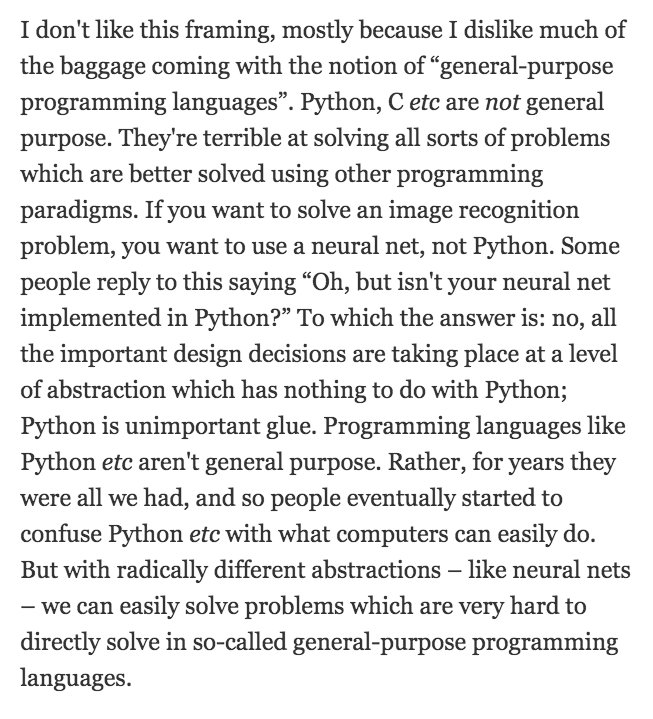 "test Twitter Media - A brief rant on ""general-purpose programming languages"": https://t.co/LPd03QsIfH https://t.co/MiEglujJ6G"