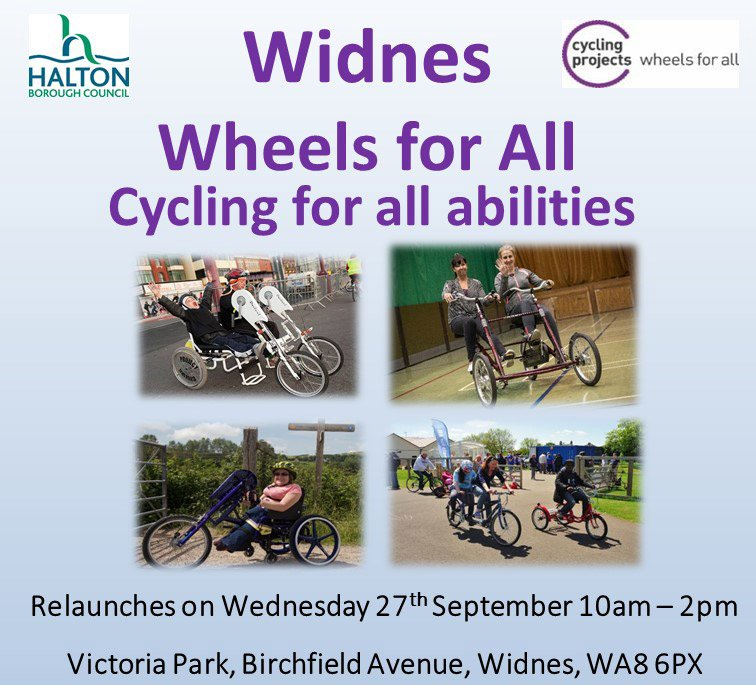 test Twitter Media - Widnes Wheels for All is relaunching, Wednesday 27th September https://t.co/qUxzrGyEam https://t.co/u5iieIYALC