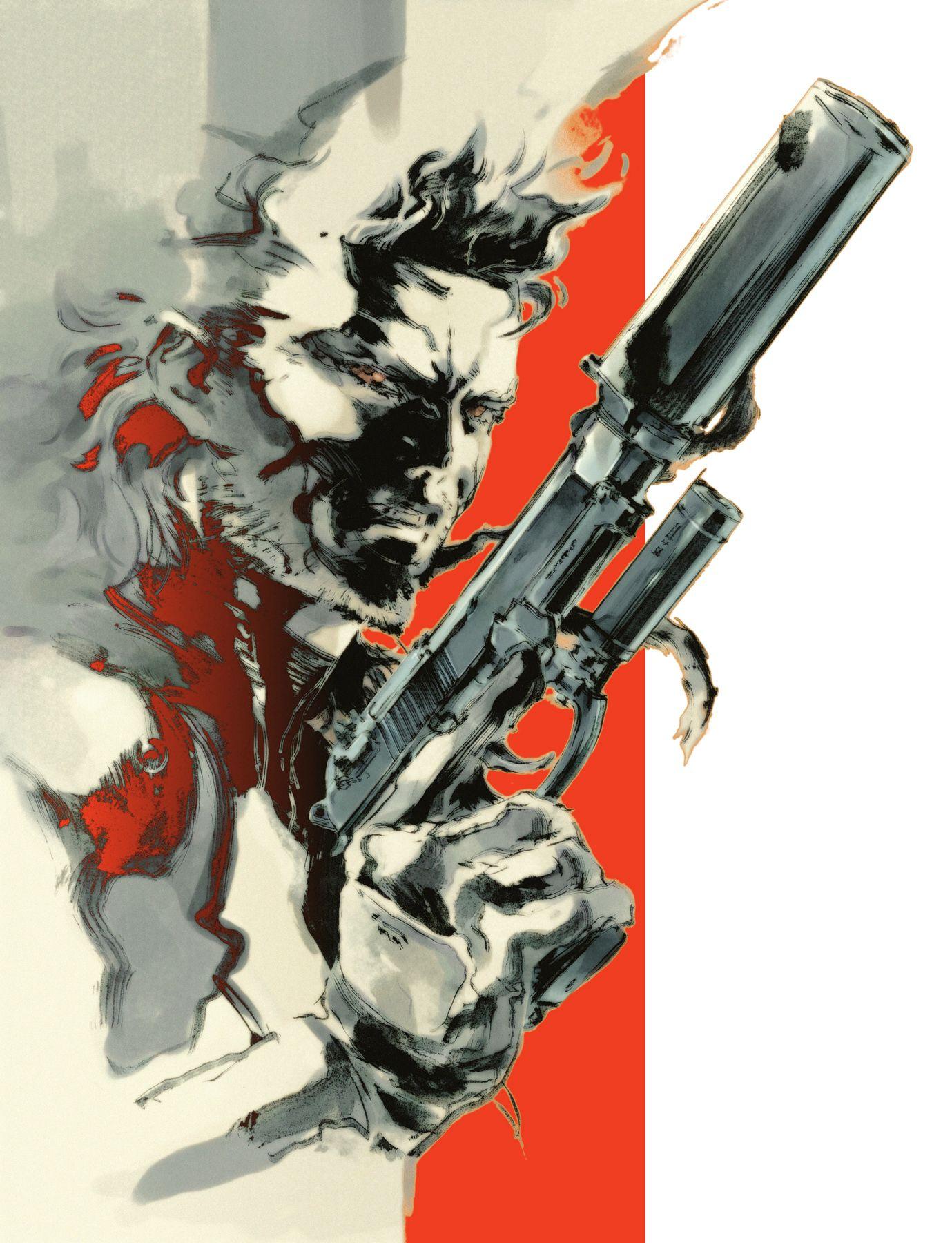 Dark Horse publishing The Art of Metal Gear Solid I-IV collecting Yoji Shinkawa's work https://t.co/ZCIHiykNUw https://t.co/NGFHWnrlrZ