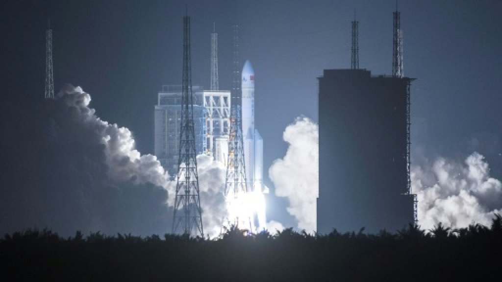 Work on China's mission to Mars 'well underway'