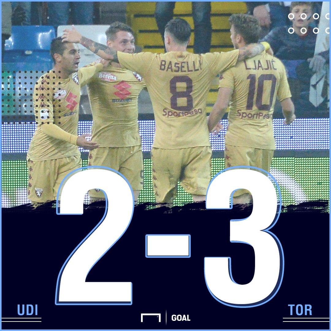 #UdineseTorino