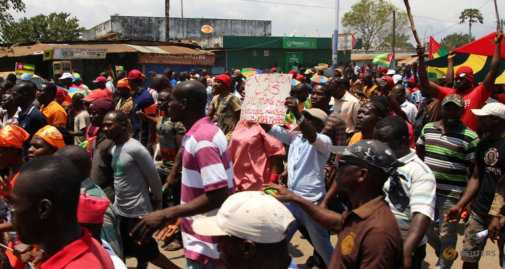 Togo security forces clash with protesters in north, killing boy