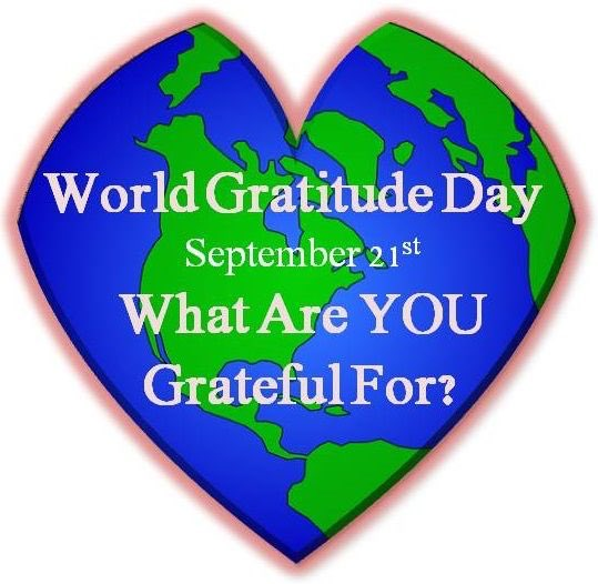 I hope you are all ready to celebrate #worldgratitudeday tomorrow. Wha...