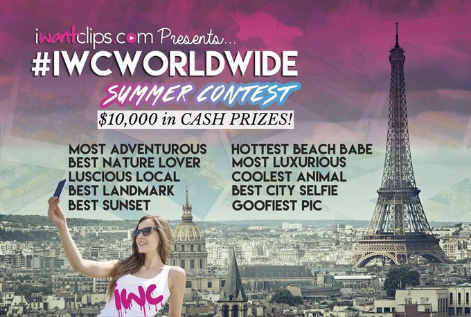 We are super excited to announce the #IWCWorldWide winners today! Stay tuned! #iWantClips #Contest #Summer