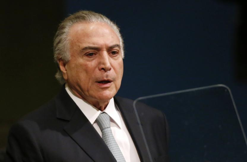 Brazil Supreme Court sends new Temer graft charges to Congress