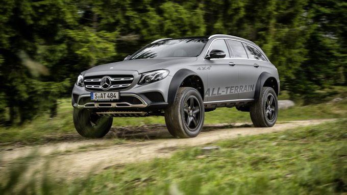 @TheRealAutoblog: .@MercedesBenz E-Class All-Terrain 4x4-squared is the wagon of our dreams: https://t.co/tOPyfSkOLZ https://t.co/4Hz4MBpcL8