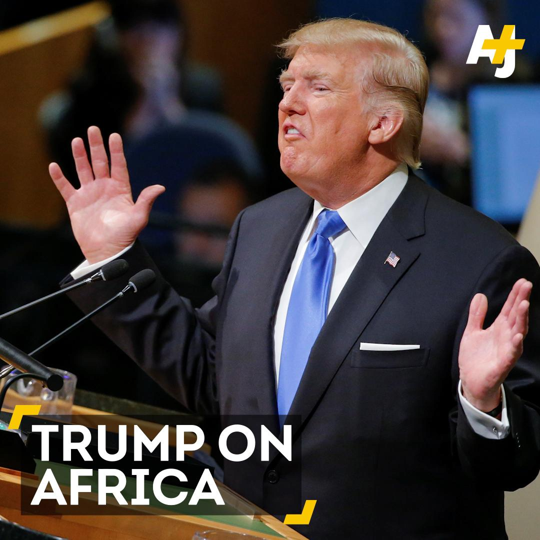 Trump referred twice to #Nambia instead of Namibia. And that wasn't ev...