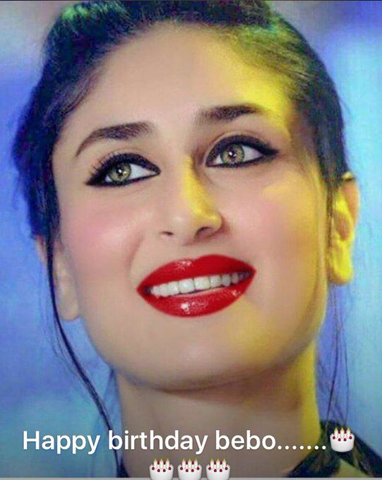 Happy birthday my favourite girl in the world....Kareena Kapoor ...many many happy returns of the day Bebo....