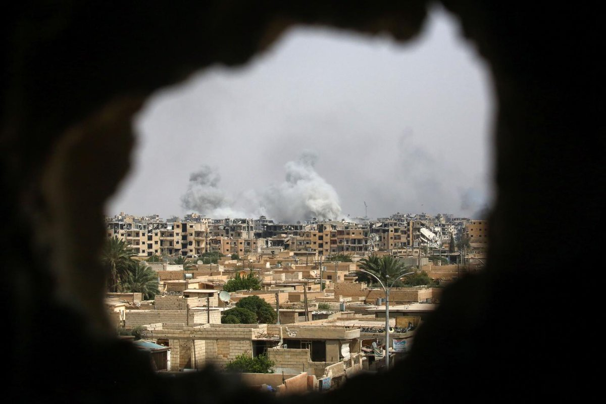 """""""Game over"""" for ISIS in Raqqa as U.S.-backed forces take 90 percent of the caliphate capital"""