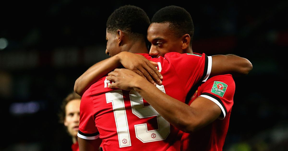 The new MSN? Manchester United fans call for Jose Mourinho to make striking change after Burton win