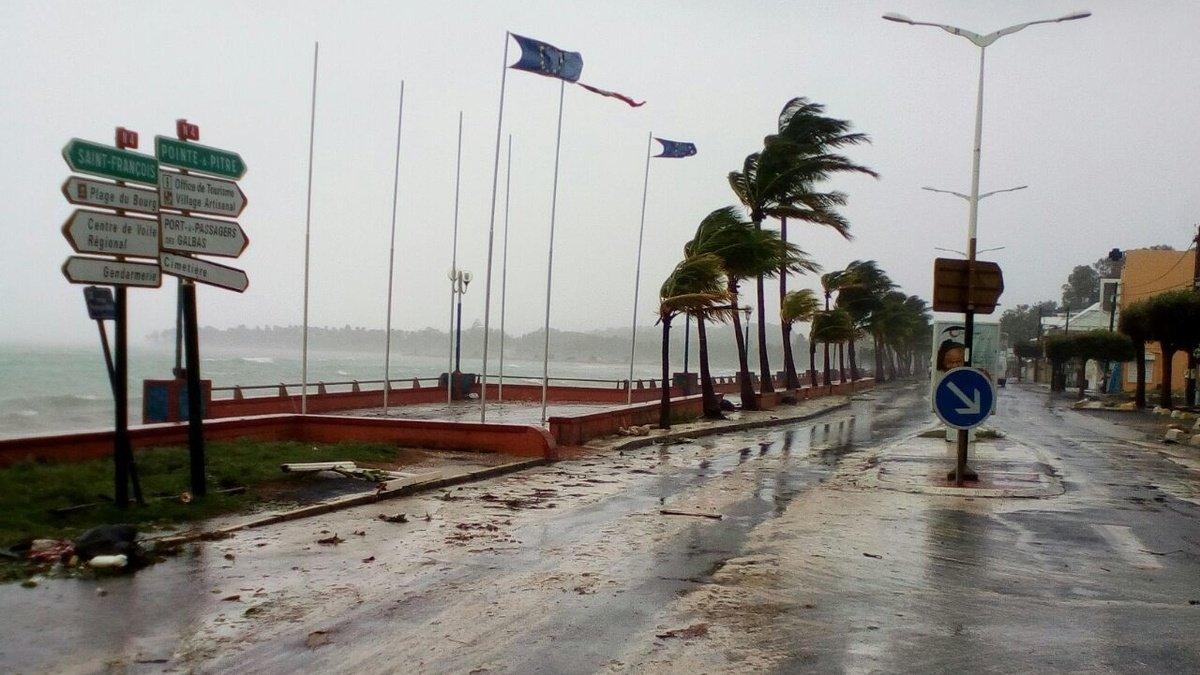Hurricane Maria downgraded to Category 2; gradually moving away from Puerto Rico