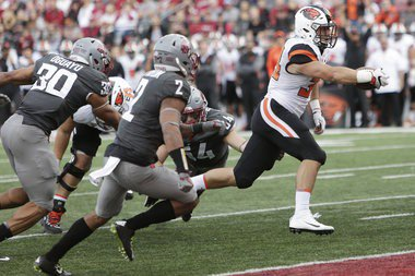 Oregon State's Gary Andersen talks string cheese, time warps and football