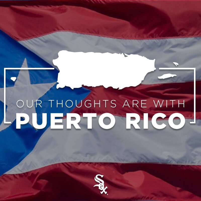We send our best wishes and thoughts to Mexico and Puerto Rico and their people. https://t.co/zGKzMuUuGF