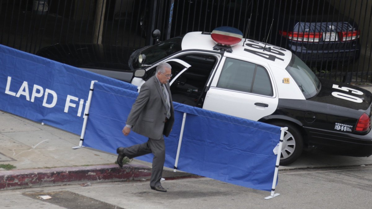 Parents of man fatally shot by LAPD, then run over by a police car, call for criminal charges