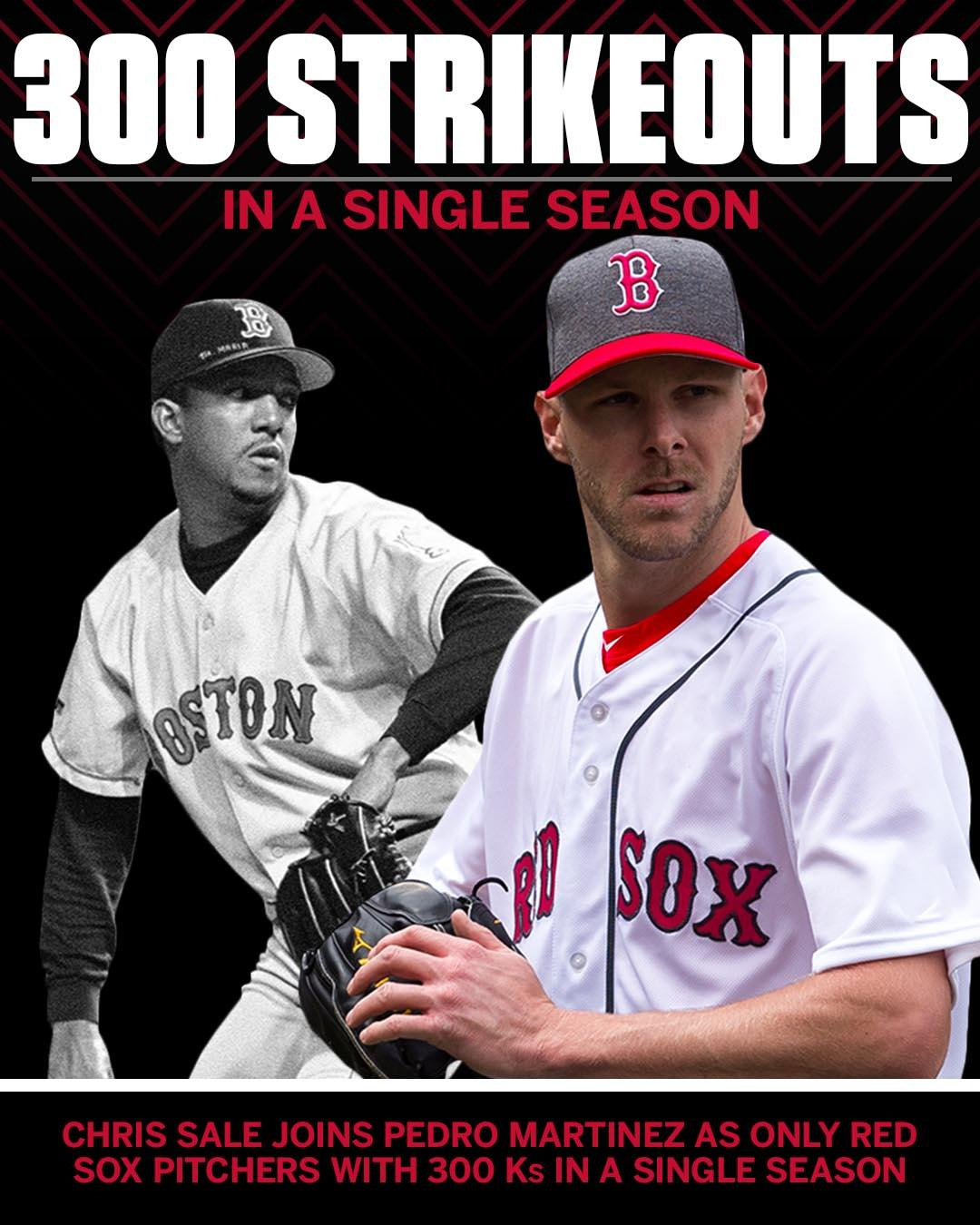 Didn't take long for Chris Sale to join Boston's pitching elite. https://t.co/J88FRkYzI9