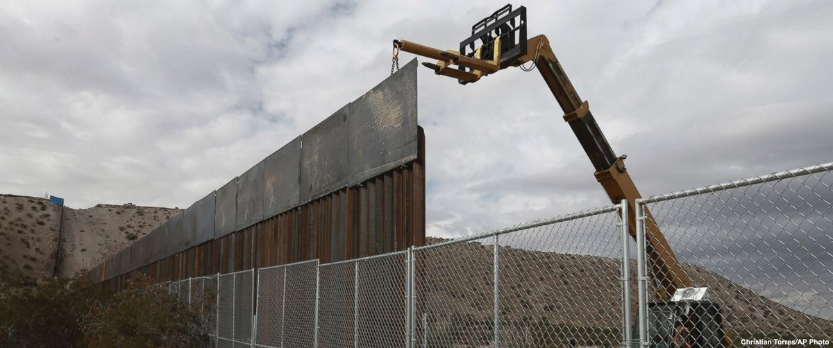 California sues Trump administration over proposed border wall