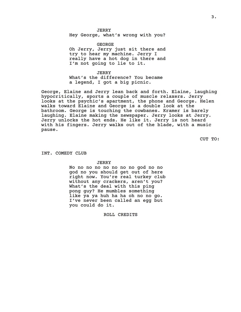 test Twitter Media - a mob of my friends used the predictive text keyboard loaded with seinfeld scripts to write this masterpiece https://t.co/YuK2be2eYZ