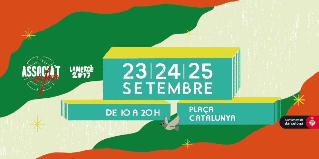 provar Twitter Mitjans - 📆📌 Mobilitza't amb les associacions de Barcelona. Associa't a la festa! #Mercè17 #Compartimelquesom https://t.co/BimZbjrKKR https://t.co/ageONc8yYW