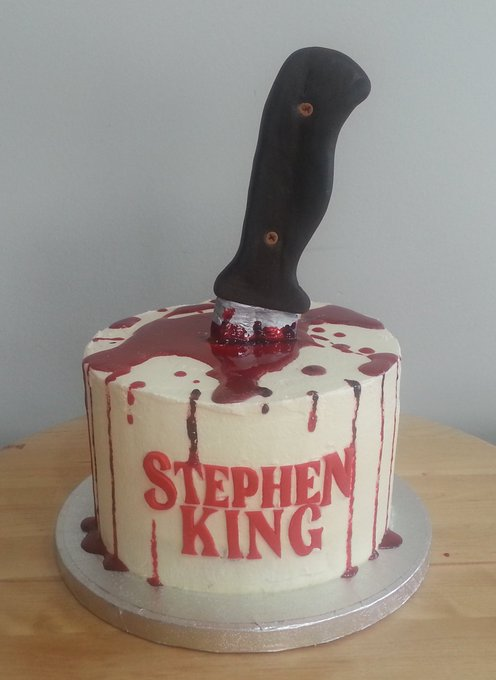 "Every day should be Happy 70th birthday to ""The King of Horror\"" Stephen King"