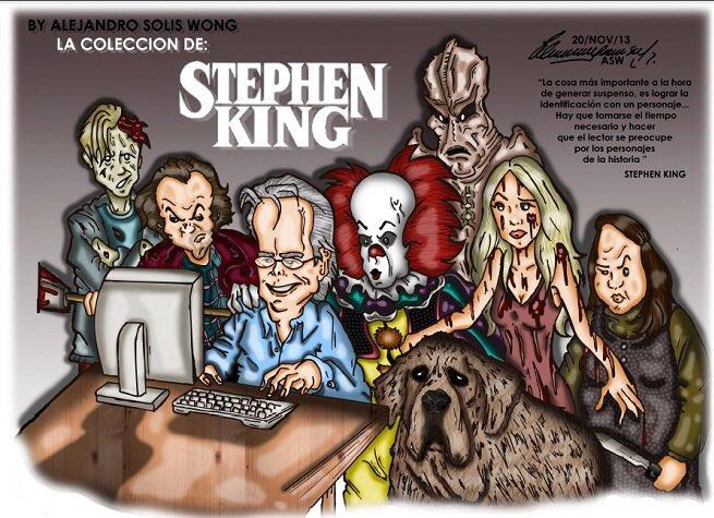 Stephen King a 70 ans aujourd\hui. Happy Birthday à l\un des rois de nos nuits blanches !