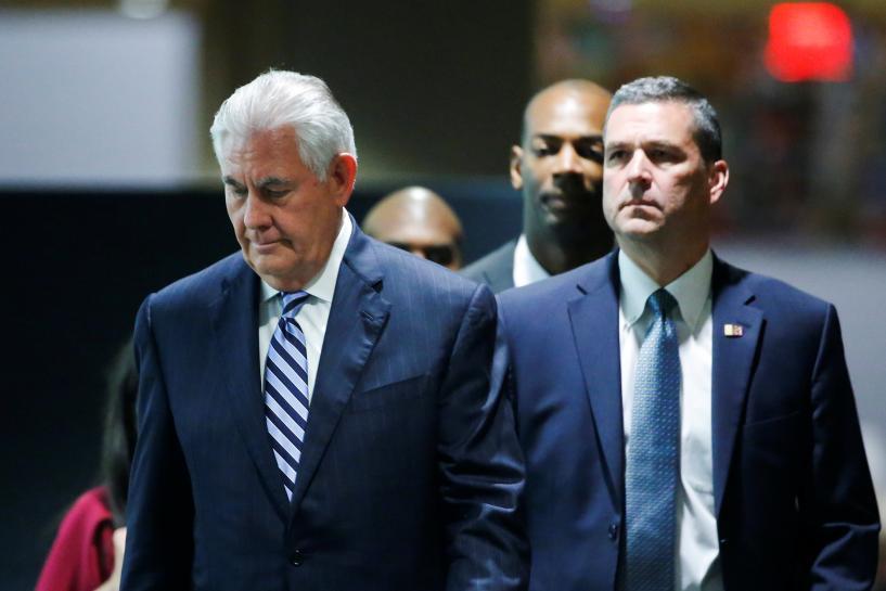 Tillerson, Zarif spoke directly at Iran nuclear talks