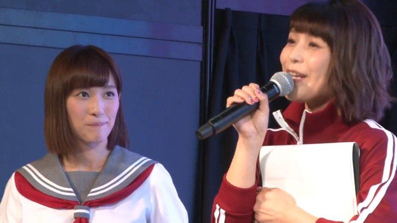 最後に新田さんがコメントしてる時に新田さんナメで左手に伊波さん入れる構図狙った現地カメラマンとスイッチーは表彰されるべき