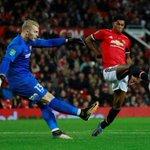 Rashford double helps Man Utd sink Burton