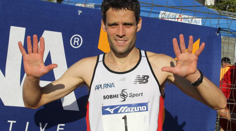Ancien champion de France de marathon, le Lavallois Alban Chorin va prendre sa retraite