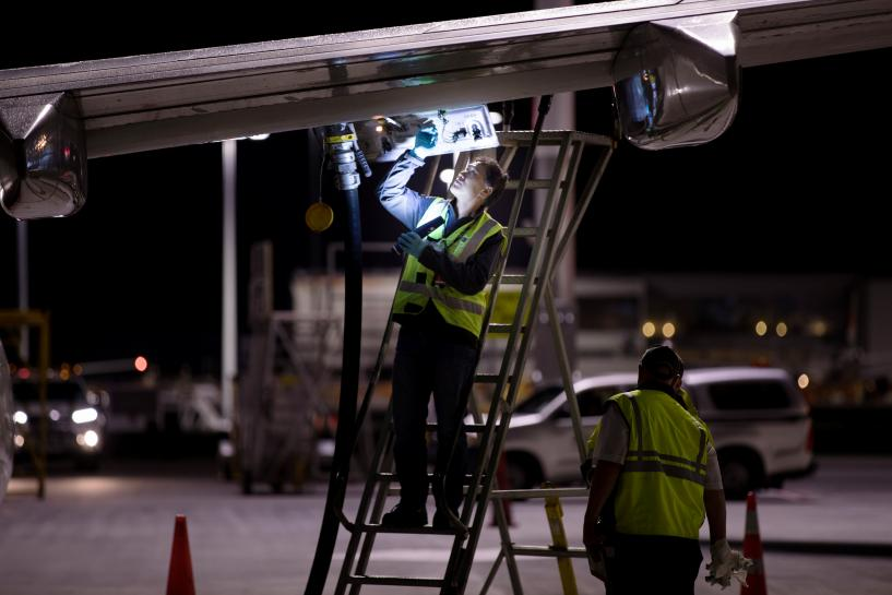 New Zealand calls in navy to beat jet fuel shortage before vote