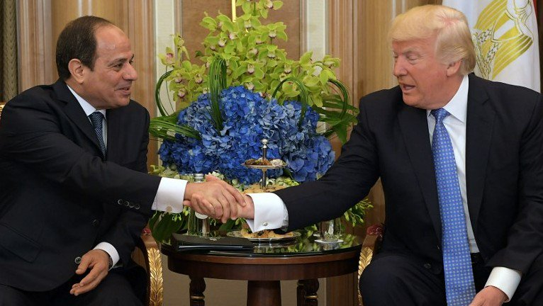 Trump to 'consider' resuming military aid to Egypt